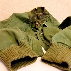Volcom Gal Army Green Jacket